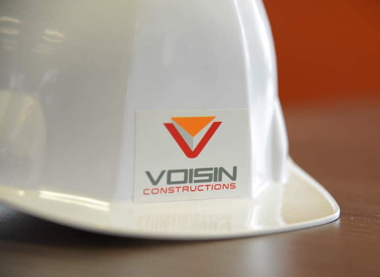 Casque de chantier Voisin Constructions